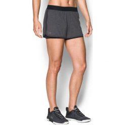 Spodenki sportowe męskie: Under Armour Spodenki damskie HeatGear® Armour 2-in-1 Shorty stalowe r. S (1302784)
