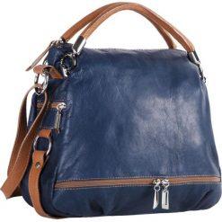 Torebka CREOLE - RBI215 Granat/Brąz. Czarne torebki klasyczne damskie marki Creole, ze skóry. W wyprzedaży za 319,00 zł.