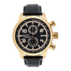 """Zegarek """"A20051G"""" w kolorze czarnym. Zegarki męskie Festina & Hugo Boss, ze stali. W wyprzedaży za 989,95 zł."""