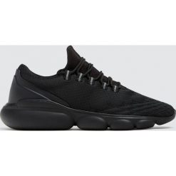 Buty męskie: Czarne buty sportowe bubble