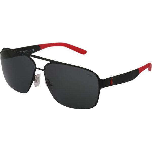 9eccddb4abf9 Polo Ralph Lauren Okulary przeciwsłoneczne black - Czarne okulary ...
