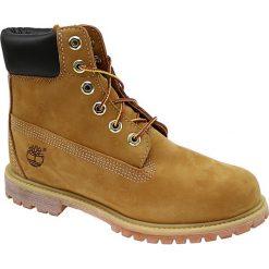 Timberland Premium 6 Inch 10361. Czarne buty trekkingowe damskie marki Timberland, na zimę. W wyprzedaży za 699,99 zł.