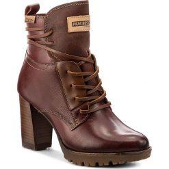 Botki PIKOLINOS - W7M-8909 Arcilla. Czerwone buty zimowe damskie Pikolinos, z materiału, na obcasie. W wyprzedaży za 399,00 zł.