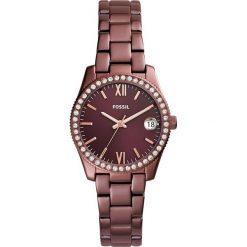Zegarek FOSSIL - Scarlette ES4320 Red/Red. Różowe zegarki damskie marki Fossil, szklane. W wyprzedaży za 519,00 zł.