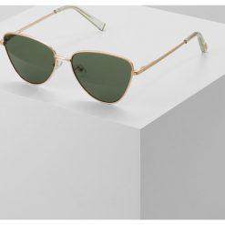 Okulary przeciwsłoneczne damskie: Le Specs ECHO Okulary przeciwsłoneczne matte goldcoloured/ khaki