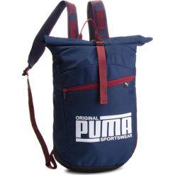 Plecak PUMA - Sole Backpack 075435 02 Peacoat. Niebieskie plecaki męskie Puma, z materiału, sportowe. Za 169,00 zł.
