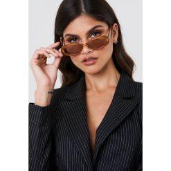 Okulary przeciwsłoneczne damskie: Le Specs Okulary przeciwsłoneczne Outta Love – Brown