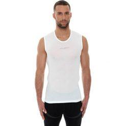 Bluzki sportowe damskie: Brubeck Koszulka unisex Base Layer SL10100 biała r. XL