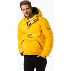 Tommy Jeans - Męska kurtka pikowana, żółty. Żółte kurtki męskie bomber Tommy Jeans, m, z jeansu, klasyczne. Za 999,95 zł.