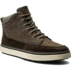 Kozaki GEOX -  U Mattias B Abx B U74T1B 02322 C6132 Chestnut/Taupe. Brązowe buty zimowe męskie Geox, z materiału. W wyprzedaży za 329,00 zł.