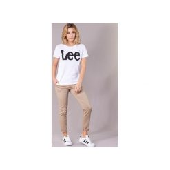 T-shirty z krótkim rękawem Lee  LOGO TEE. Białe t-shirty damskie Lee, s. Za 90,30 zł.