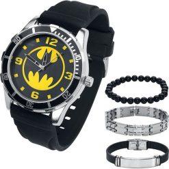 Zegarki męskie: Batman Batman Set Zegarek na rękę czarny
