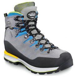 Buty trekkingowe damskie: MEINDL Buty damskie Air Revolution 4.1 Lady szaro-niebieskie r. 41.5 (3088)