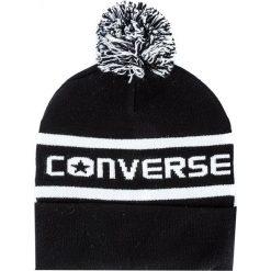 Czapka CONVERSE - 562261 Black. Czarne czapki zimowe damskie marki Converse, z materiału. Za 89,00 zł.