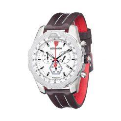 """Zegarki męskie: Zegarek """"DT-YG101-B"""" w kolorze brązowo-czerwono-srebrnym"""