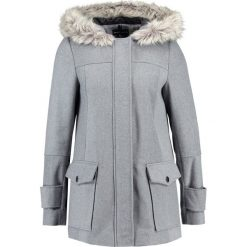 Płaszcze damskie pastelowe: Dorothy Perkins UTILITY DUFFLE  Krótki płaszcz grey