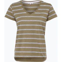 Marie Lund - T-shirt damski, zielony. Zielone t-shirty damskie Marie Lund, xs, w paski, z bawełny. Za 59,95 zł.