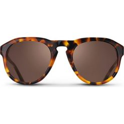 """Okulary przeciwsłoneczne męskie: Okulary przeciwsłoneczne """"Havana Damien"""" w kolorze brązowym"""