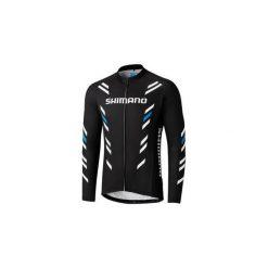 Bejsbolówki męskie: Bluza rowerowa męska Shimano Thermal Print Long Sleeve Jersey XL