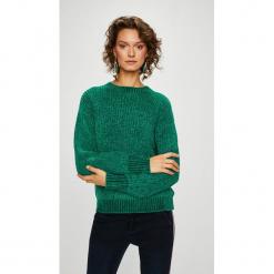 Medicine - Sweter Secret Garden. Szare swetry klasyczne damskie marki MEDICINE, l, z dzianiny, z okrągłym kołnierzem. Za 119,90 zł.