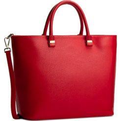 Torebka CREOLE - RBI10077 Czerwony. Czerwone torebki klasyczne damskie Creole, ze skóry, duże. W wyprzedaży za 279,00 zł.