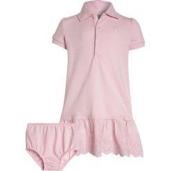 Odzież dziecięca: Polo Ralph Lauren DRESSES BABY SET  Sukienka letnia hint of pink