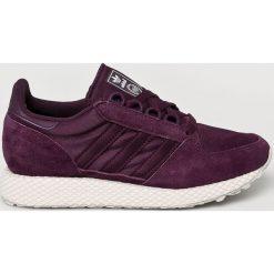 Adidas Originals - Buty Forest Grove. Brązowe buty sportowe damskie marki adidas Originals, z bawełny. Za 329,90 zł.