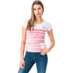 4f Koszulka damska H4L18-TSD012 czerwona r. S. Czerwone bluzki damskie marki 4f, l. Za 32,90 zł.