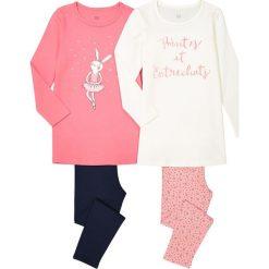 Odzież dziecięca: Piżama z długim rękawem 3-12 lat, komplet 2 szt.