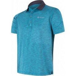Odzież termoaktywna męska: Sensor Koszulka Polo Męska Motion Niebieska M