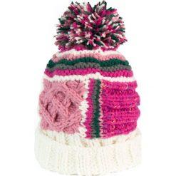 Czapki damskie: Art of Polo Czapka damska uratuj kolory w zimie różowo beżowa