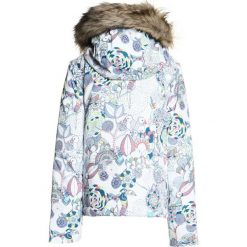Roxy JET SKI Kurtka snowboardowa bright white/hackney empire. Białe kurtki chłopięce marki Roxy, z materiału. W wyprzedaży za 471,20 zł.