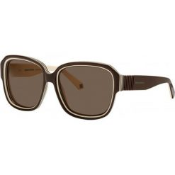 """Okulary przeciwsłoneczne damskie aviatory: Okulary przeciwsłoneczne """"SR771106"""" w kolorze brązowym"""
