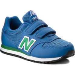 Trampki chłopięce: Sneakersy NEW BALANCE – KV500YUY Niebieski