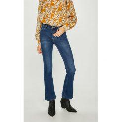 Answear - Jeansy. Niebieskie jeansy damskie marki ANSWEAR. W wyprzedaży za 99,90 zł.