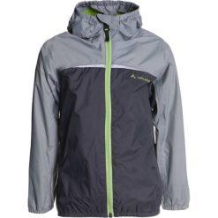 Vaude KIDS TURACO JACKET  Kurtka Outdoor iron. Niebieskie kurtki chłopięce sportowe marki bonprix, z kapturem. Za 249,00 zł.