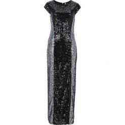 Sukienki hiszpanki: Sukienka z cekinami bonprix czarno-srebrny