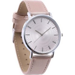Beżowy Zegarek Commonplace. Brązowe zegarki damskie Born2be. Za 24,99 zł.