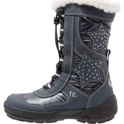 Fullstop. Śniegowce navy. Szare buty zimowe damskie marki fullstop., z materiału. W wyprzedaży za 125,40 zł.