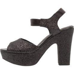 Rzymianki damskie: Shoe The Bear SANDY Sandały na obcasie black
