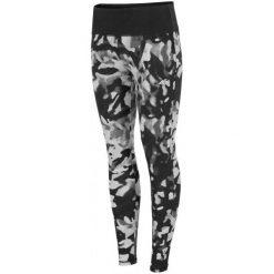 4F Damskie Spodnie Do Fitnessu H4Z17 spdf004 Allover Czarny-Biały Xs. Białe bryczesy damskie 4f, xs, z elastanu, na fitness i siłownię. W wyprzedaży za 89,00 zł.