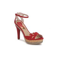 Sandały Etro  3488. Czerwone sandały damskie Etro. Za 2095,20 zł.