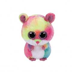 Maskotka TY INC Beanie Boos Rodney - Wielokolorowy Chomik 15 cm. Różowe przytulanki i maskotki marki TY INC. Za 19,99 zł.