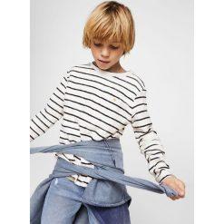 Odzież dziecięca: Mango Kids – Longsleeve dziecięcy Maf 110-164 cm