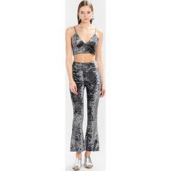 Spodnie dresowe damskie: Bik Bok TOPAZ Spodnie treningowe grey velvet