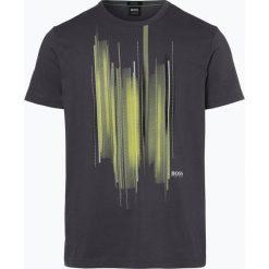 T-shirty męskie z nadrukiem: BOSS Athleisure – T-shirt męski – Tee 4, szary