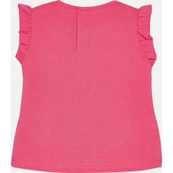 Mayoral - Top dziecięcy 68-98 cm. Szare bluzki dziewczęce marki bonprix, m, melanż, z dzianiny, z kontrastowym kołnierzykiem. Za 64,90 zł.