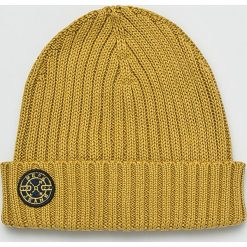 Pepe Jeans - Czapka. Brązowe czapki zimowe męskie Pepe Jeans, na zimę, z bawełny. Za 99,90 zł.