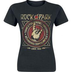 Bluzki asymetryczne: Rock Im Park Koszulka damska czarny