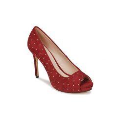 Czółenka Menbur  DERMAIN. Czerwone buty ślubne damskie Menbur. Za 279,20 zł.